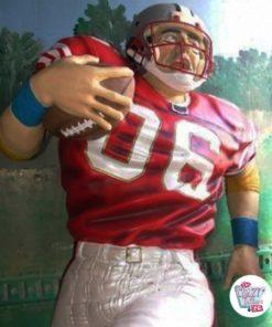 Figura Decorazione Sport Football americano