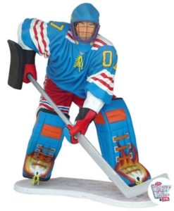 Figur Dekoration Ishockey Sports