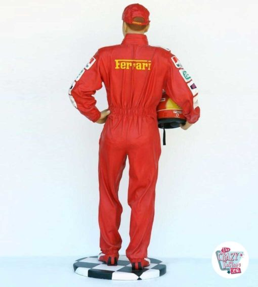 Figure Decoration Sports Pilot F1