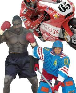 Sport Dekoration Figuren