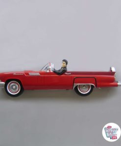 Dekorationsfigur Elvis Ford Thunderbird 55