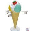 Figur Dekoration Ice Cream Kegle Aromaer