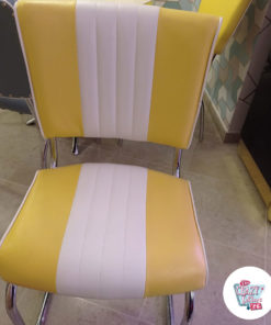 Amerikanisches Retro-Ess-Set C1827 Outlet Stuhl