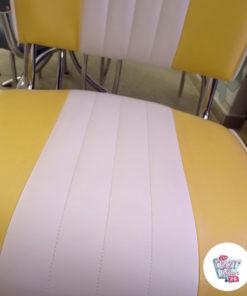 Amerikanisches Retro-Ess-Set C1827 Outlet Chair Detail