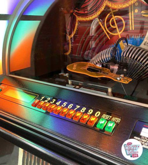 Jukebox Rock-ola CD Bubbler sort vælger