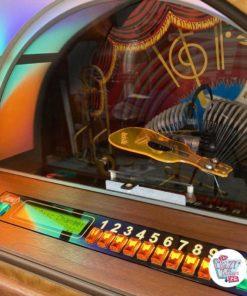 Jukebox Rock-ola CD Bubbler valnød-vælger