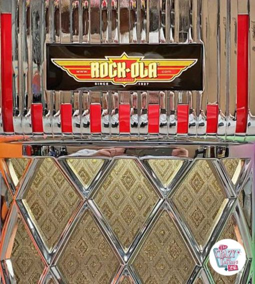 Jukebox Rock-ola CD Bubbler-gitter