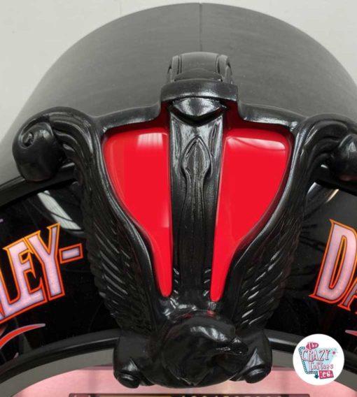 Jukebox Rock-ola CD Harley Davidson Flames eagle