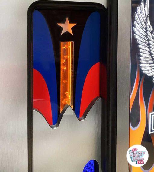 Jukebox Rock-ola CD Harley Davidson Flames bobler