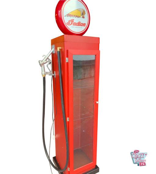 Benzindispenser 8 kugle retro display