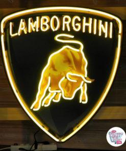 Neon Lamborghini XL Poster