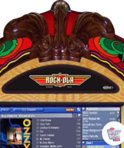 Jukebox Rock-ola Digital Gazelle udskåret træ