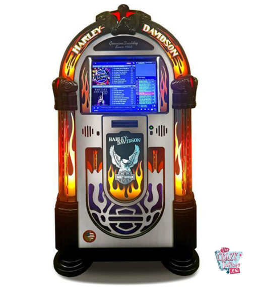 Rock-ola Digital Jukebox Harley-Davidson Flames