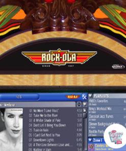Jukebox Rock-ola Digital påfugletræ