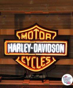 Neon Harley Davidson XL Sign