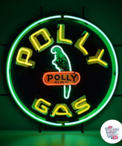 Neon PollyGas Sign