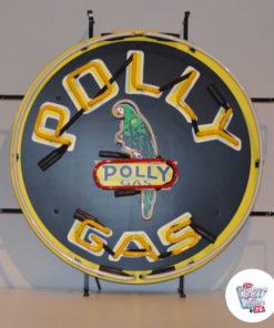 Neon PollyGas off plakat