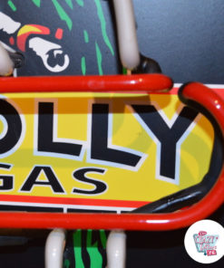 Neon PollyGas off detail sign