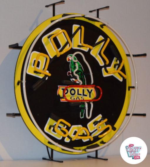 Neon PollyGas fra højre plakat