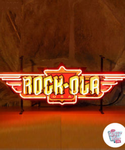 Neon Rock-Ola Jukeboxes on Poster