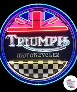 Segno al neon Triumph ON