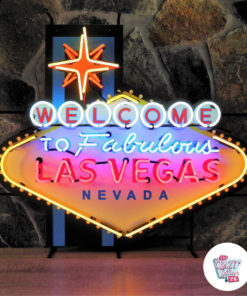 Neon Welcome to Las Vegas XL Sign
