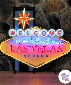 Insegna al neon di benvenuto a Las Vegas XL
