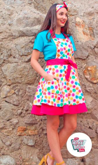 Lollipop Sue Forklæde Model