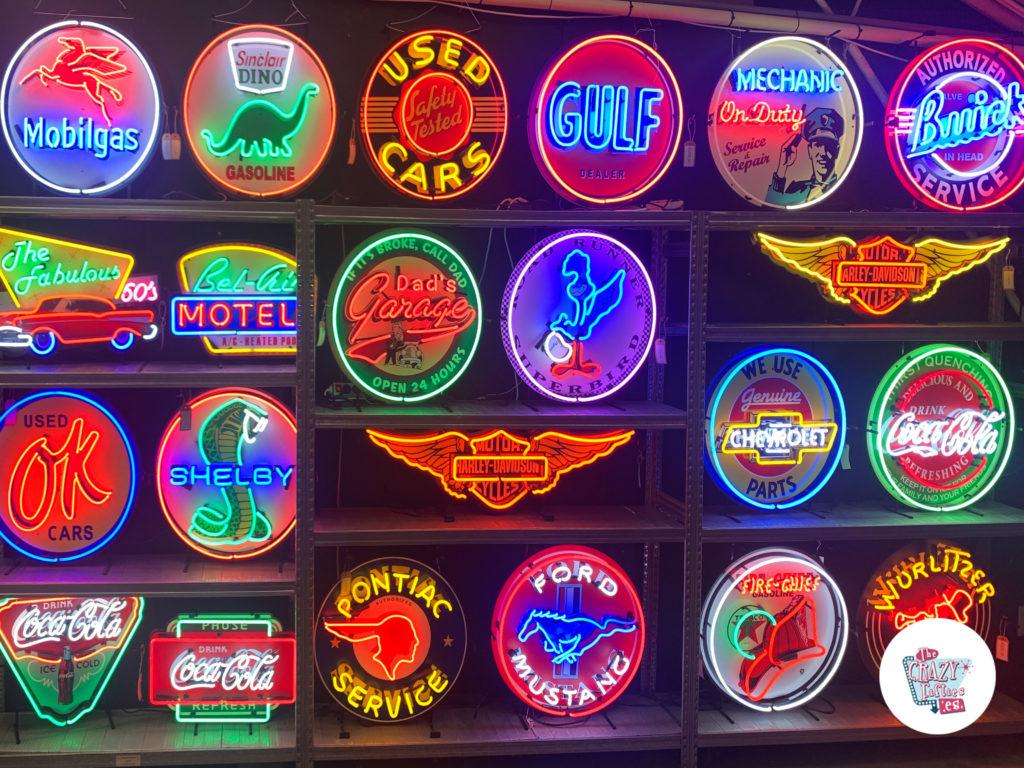 Neon showroom