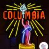 Plakat Neon Columbia-billeder