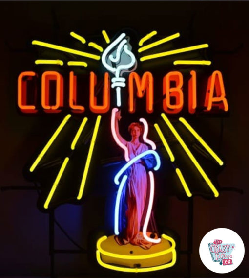 Plakat Neon Columbia Pictures