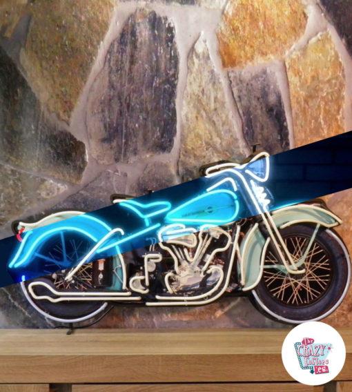 Neon Sign motorsykkel Harley Davidson av