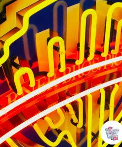 Cartel Neon Warner Bros Pictures detail