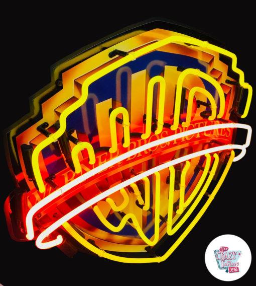 Cartel Neon Warner Bros Pictures arriba