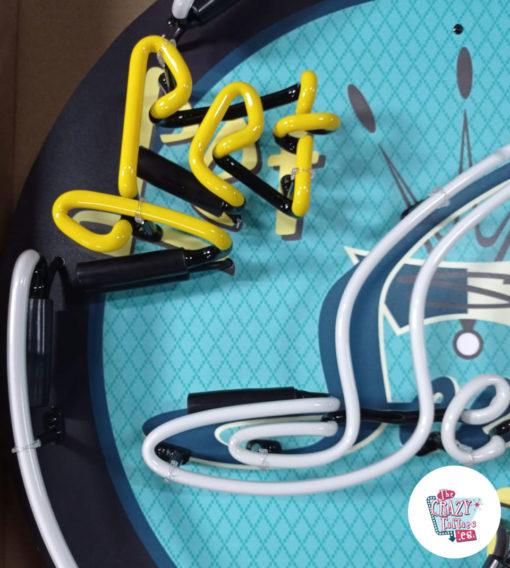 Cartel Neon Let Seeburg play Jukebox apagado