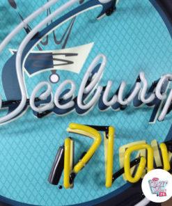 Cartel Neon Let Seeburg play Jukebox detail