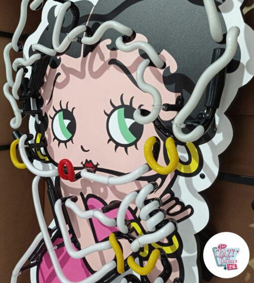 Cartel Neon Betty Boop off up