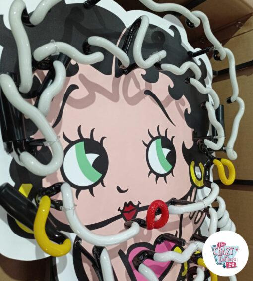Cartel Neon Betty Boop off face