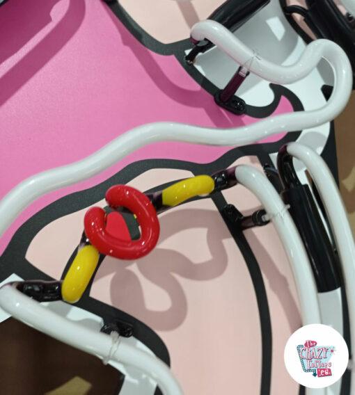 Cartel Neon Betty Boop apagado liguero