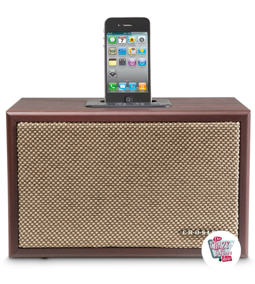 Altavoz Crosley iDeco iPod Docking