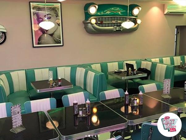 Udvidelse af Roxy's Diner i Bergen, Norge