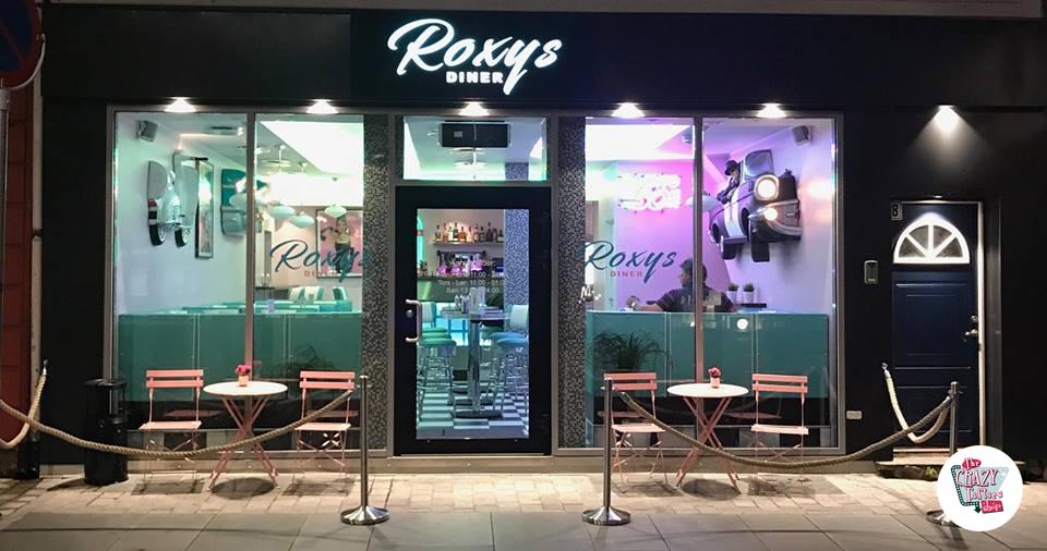 Ampliación del Roxy's Diner en Bergen, Noruega