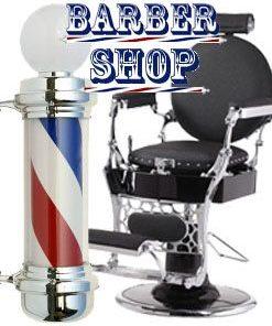 Retro Vintage Friseurladen