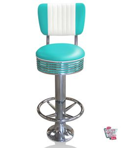 Retro American Diner Bar Stool BS27CB