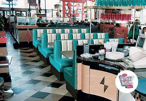American Retro Diner Table TO29W