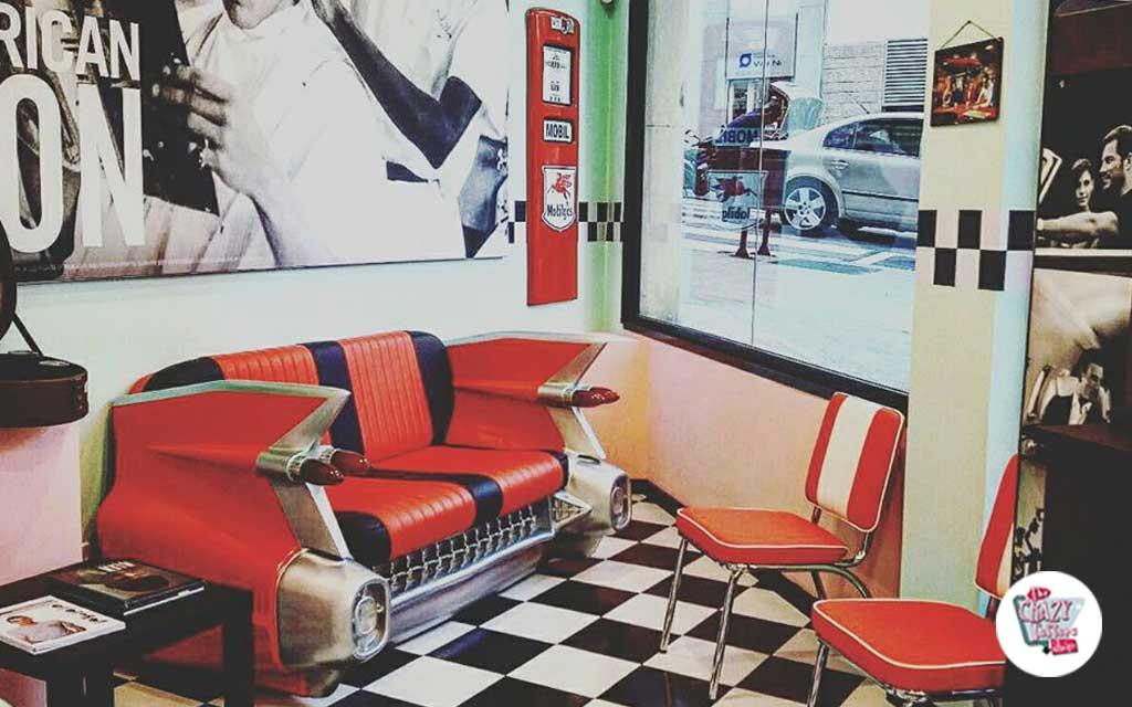 Vintage barbershop Barcelona