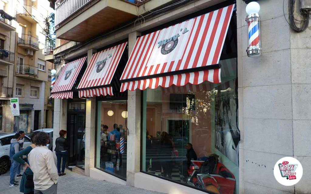 Vintage barbiere Barcellona