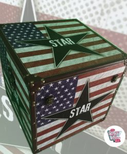 Crates en Septembre 2 Retro American Star