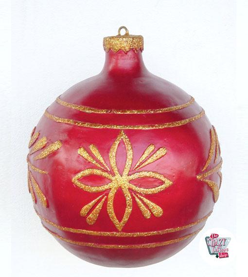 Bola arbol decoraci n navidad for Arbol de navidad con bolas rojas