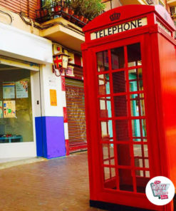 Old English telefonbokser